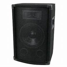 New 10 Quot 2 Way Dj Speaker Live Band Sound Karaoke Pro Audio