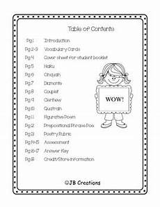 poem worksheet third grade 25391 s day mini poetry unit for 4th grade adaptable for 3rd 5th