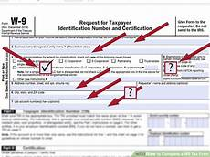 how to complete a w 9 tax form 9 steps with pictures wikihow