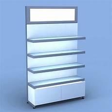 aveda retail wall display w metal light box salon furniture eurisko design