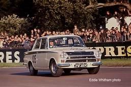 Jim Clark Ford Lotus Cortina 1965 Gold Cup Meeting  Race