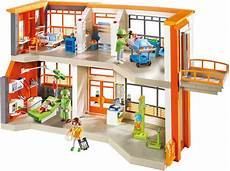 playmobil furnished children s hospital 4008789066572