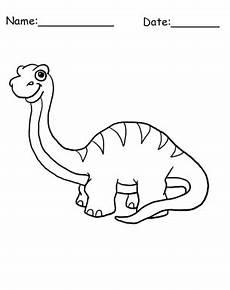 brontosaurus dinosaur coloring sheet dinosaur coloring