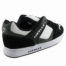 Airwalk Mens Original mens airwalk white black skate trainers shoes size 7 12 ebay