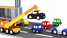 4 Kleine Autos - lehrreicher zeichentrickfilm die 4 kleinen autos der