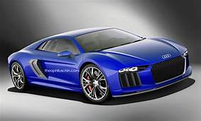 Next Gen Audi R8 Render By Theophilus Chin With Nanuk
