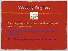 wedding ring baby test baby vash guess game