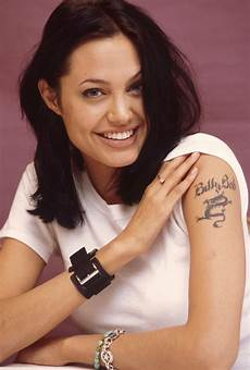 angelina jolie a guide to her tattoos gallery