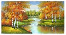 scenery birch forest painting selling modern home