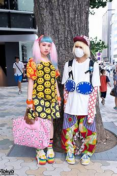 pastel hair smiley faces my pet monster zaorick trolls backpack in harajuku