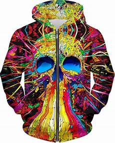 Different Colors Available Premium Skulls Color Skull Tapestry Hoodie Hoodies Color Skull