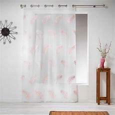 rosa gardinen gardine 140 x 240 cm feather rosa gardinen vorh 228 nge