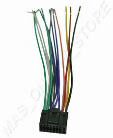 wire harness for jvc kd r300 kdr300 pay today ships today ebay