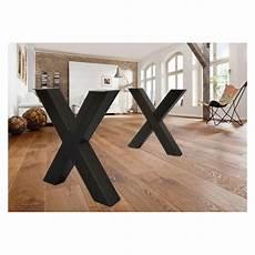 pied de table metal pieds de table en x pieds de table en m 233 tal