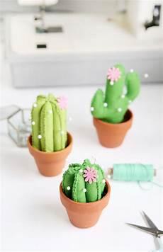 Deko Ideen Selber Nähen - diy kaktus nadelkissen im ard buffet diy sewing