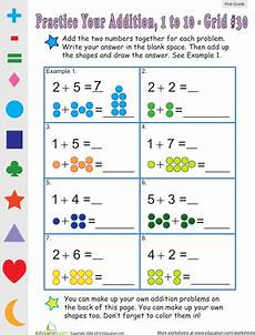 addition worksheets to 30 9070 count the dots single digit addition 30 addition worksheets grade math worksheets