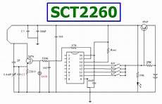 sct2260 datasheet remote control encoding ic silvan