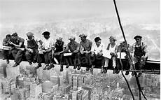 lunch atop a skyscraper poster wallpaper charles c ebbets