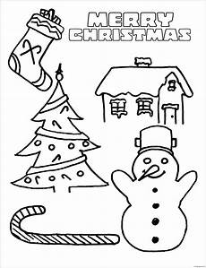 merry christmas 7 coloring page free coloring pages online