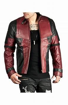 deadpool coats for deadpool leather jacket deadpool jacket