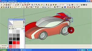 How To Make Simple Car In Google Sketchup Tutorial 2  YouTube