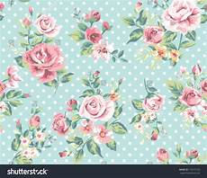 flower wallpaper pattern wallpaper seamless vintage pink flower pattern stock