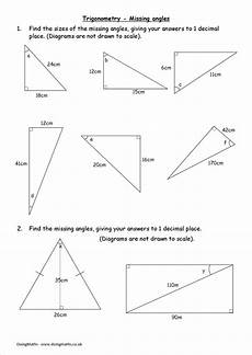trigonometry worksheets and powerpoints doingmaths free maths worksheets