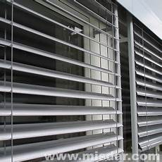wireless remote electric outdoor venetian blind external