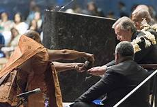 un following tradition to un opening ceremony of un ocean conference during the fijian