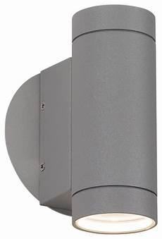 matte silver up and down wall light contemporary outdoor wall lights and sconces by euro