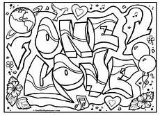 graffiti ausmalbilder namen das beste graffiti