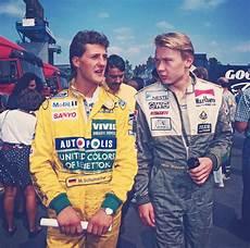 Formel Eins Fahrer - michael schumacher and hakkinen 1992 sport formel