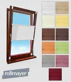 Fenster Jalousien Ohne Bohren - fenster plissee klemmfix selbstklebende faltenrollo