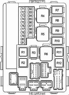 2007 nissan an fuse box diagram nissan murano 2002 2007 fuse box diagram auto genius
