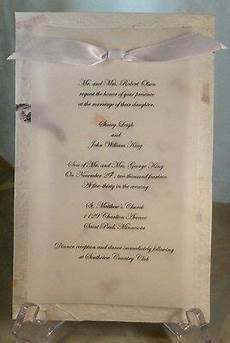 50 handmade mulberry paper with vellum overlay wedding