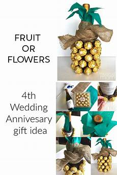 4th Year Wedding Anniversary Gift Ideas For