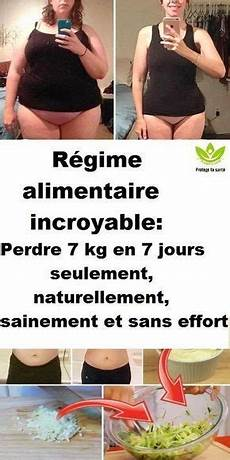 r 233 gime alimentaire incroyable perdre 7 kg en 7 jours