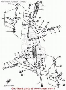 1989 yamaha moto 4 wiring diagram yamaha yfm250w moto 4 1989 front suspension wheel schematic partsfiche