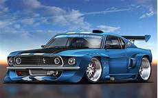 Wallpaper Mustang Blue Car by Blue Modified Mustang Gt Hd Wallpaper My Site