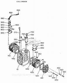 Subaru Cylinder Diagram by Robin Subaru Ey21 Parts Diagram For Crankcase Cylinder