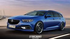 2018 Opel Insignia Opc Rendered In Sports Tourer Form
