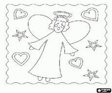 Ausmalbilder Sterne Herzen Ausmalbilder Weihnachtsengel Sterne Und Herzen Zum Ausdrucken