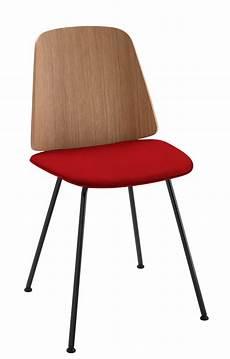 chaise june zanotta noir bois naturel made in design