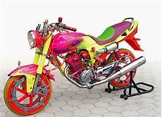 Modifikasi Megapro 2004 by Kumpulan Modifikasi Motor Honda Mega Pro Terbaru Modif