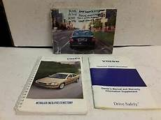 free service manuals online 2001 volvo s80 electronic valve timing 2002 volvo s80 owners manual ebay
