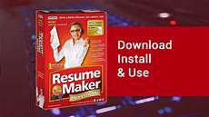 resume maker professional 17 deluxe download install
