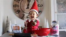 baby up as elf the shelf and it s adorable youtube