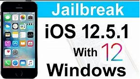 How to Jailbreak 📱iPhone 5s iOS 12.5.1 Checkra1n with Windows All Error Fixed