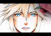 Let's Draw Cloud Strife - Final Fantasy VII - FAN ART FRIDAY
