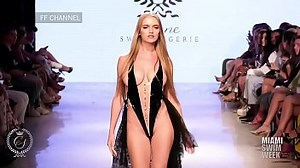 Nude Catwalk Fashion Show